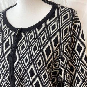Coldwater Creek Aztec Print Cardigan/jacket XL/18